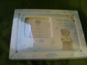 Me To You Tatty Teddy photo frame ..someone special.. blue..